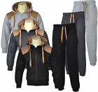 C03 Mens Jogging Suit Tracksuit Hoody hooded hoodie Bottoms Fleece Pants