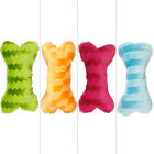 Brand new Stripe bone dog's love interative games toys in 4 colors