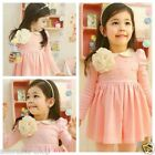 FREE P&P 111 Pink Weddomg Party Princess Flower Girls Dresses SIZE 3-4-5-6-7-8-9