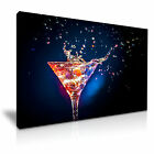 FOOD & DRINK Drink Cocktail 8 1L Framed Print Canvas Wall Art~ More Size