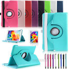 Rotating Smart PU Case Sleep/Wake Cover for Samsung Galaxy Tab 4 8.0 8inch T330
