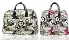 New Butterfly Vintage Holdall Trolley Bag,Hand Luggage Travel HandBag Large Size