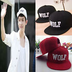 Chic Korea WOLF EXO first year embroidered Comfort Fashion snapback Cap Hat UKMW