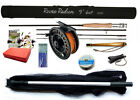 Radion Beginner's STARTER FLY FISHING OUTFIT - Choice of Fly Rods  (RRP £129.89)