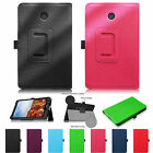For Verizon Ellipsis 8 4G LTE Tablet Slim Fit Premium Vegan Leather Cover Case