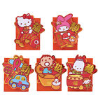 SANRIO KITTY/MELODY/MINA NO TABNO /RB  3D DIECUT LUNAR YEAR RED POCKET/ ENVELOP
