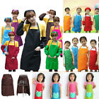 Plain Unisex Apron Chefs Butchers Kitchen Cooking Baking Catering Work Craft Bib