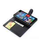 Book Flip Wallet stand Leather Cover Case For Nokia Microsoft Lumia 535 a