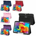 "Folio Folding PU Leather Stand Case Cover For Samsung Galaxy Tab 4 10.1"" T530"
