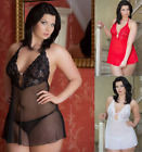 █▬█ █ ▀█▀ Plus Size Sexy Negligee Dessous Babydoll, *Holly*, XL-XXXL 46-56