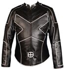 New Wolverine X-MEN 2 United Leather Biker Jacket Motorcycle size xs s m l xl
