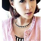 2015 Womens Punk Necklaces Vintage Gothic Party Fashion Pendant Retro Necklace