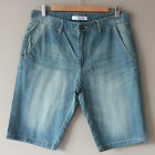New Men's Blue Jeans Denim Shorts Regular Fit SZ 31 32 33 34 36 37 38 39 40