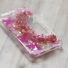 XPP Pressed Real Hydrangea Flower Bling Hard Skin Case Cover For Samsung iPhone