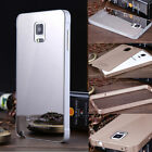 For Samsung Galaxy Note 4 N9100 Luxury Aluminum Thin Metal PC Mirror Case Cover