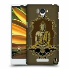 HEAD CASE DESIGNS BUDDHA CASE COVER FOR SHARP AQUOS SERIE SHL25 LTE