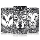 HEAD CASE DESIGNS DOODLE ANIMAL FACES CASE COVER FOR ONEPLUS ONE