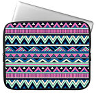 """Stripe 11-15.6"""" Laptop Soft Sleeve Case Bag For MacBook Pro Air Acer Dell Sony"""