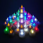 Color Flameless Safe LED Tealight Tea Candles Light Home Decor Wedding Party LOT
