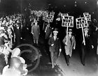 "1931 Prohibition Protest ""We Want Beer"" Newark NJ Historical Photo"