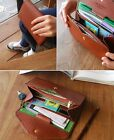 Lady Women Clutch Bag Soft Wallet Purse Synthetic Leather Phone Key Card Holder