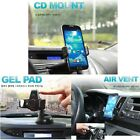 Kropsson NFC CD slot, Gel Pad, Air Vent Mount For 55~80mm Smartphone, iPhone