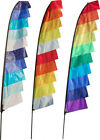 FEATHER BANNER FLAG KITS. 4M & 6M SIZES. IDEAL FOR FESTIVALS, CAMPING, PARTIES