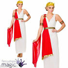 LADIES ROMAN GREEK GODDESS GLAMOROUS TOGA ATHENA EGYPTIAN FANCY DRESS COSTUME