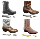 FC151 NEW MEN'S BOOT WEAR CHAIN ANKLE ACCESSORY COUNTRY RUSTIC WESTERN STYLE