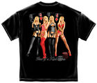 Poker 4 of a Kind Hot Babes T-Shirt  Print Both Side SHIPS FAST