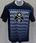 Denver Nuggets Basketball Short Sleeve Repeat T-Shirt Blue