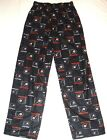 Philadelphia Flyers Hockey Youth Pajama Lounge Pants Black NWT