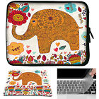 Neoprene Laptop Sleeve Case Bag+Mouse Pad +Keyboard Cover For Macbook Air Pro