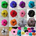 1 pcs Beautiful feather flower for headdress 13 color chooes Free shipping