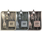 Centurian Star Medal Running FREE ENGRAVING With Ribbon MM15010
