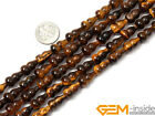 Fruit Shape Tiger eye Beads Jewelry Making loose gemstone beads strand 15""