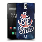 HEAD CASE DESIGNS ANCHORED HARD BACK CASE FOR ONEPLUS ONE