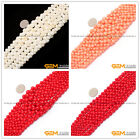 Graduated Bone Coral Jewelry Making Pre Finished Necklace beads strand 15""