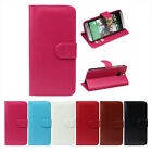 Favored 1PC Luxury Retro Leather Wallet Flip Cover Case For HTC One 2 M8