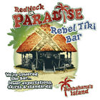 Redneck in Paradise Rebel Tiki Bar Shirt