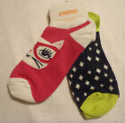 Gymboree Bright Ideas M 6-8 or L 8-10 Choice Everyday Ankle Socks Pack 2 NWT