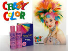 TWIN PACK Crazy Color Semi Permanent Colour Hair Dye 100ml UK