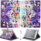 """Universal Mickey Minnie PU Leather Case Cover For Most 9"""" ~ 10.1"""" Inch Tablet PC"""