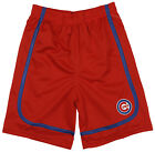 MLB Baseball Kids / Youth Chicago Cubs Team Shorts - Red