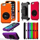 For Apple iPhone 6 /iPhone 6 Plus Defender Impact Case Cover Holster Belt Clip