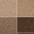 Rocca Feltbacked Carpet, Cheap Loop Pile Carpet 4m & 5m Wide, Natural Colours