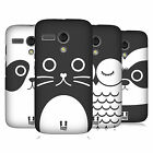 HEAD CASE DESIGNS CARTOON ANIMAL FACES SERIES 1 CASE FOR MOTOROLA MOTO G