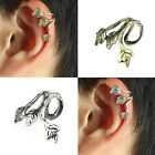 Vintage Earrings Stud Leaf Design Earring Ear Cuff Wrap Clip Earring серьгаTrend