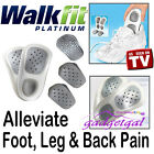 Walkfit Orthotic Insoles Support Leg Back Pain Align Feet Ankle SIZE C D E F G