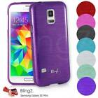 LINING JELLY SILICONE TPU RUBBER GEL CASE COVER FOR NEW SAMSUNG GALAXY S5 MINI